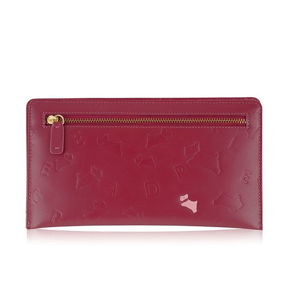 'Oriel' large bag clutch Radley Red 5f0qBB