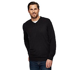 The Collection - Black V-neck jumper