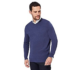 The Collection - Blue V-neck jumper