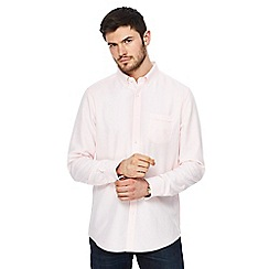The Collection - Big and tall pink oxford shirt