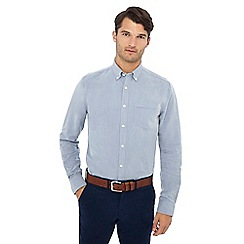 The Collection - Big and tall blue oxford shirt