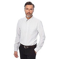 The Collection - Light grey Oxford shirt