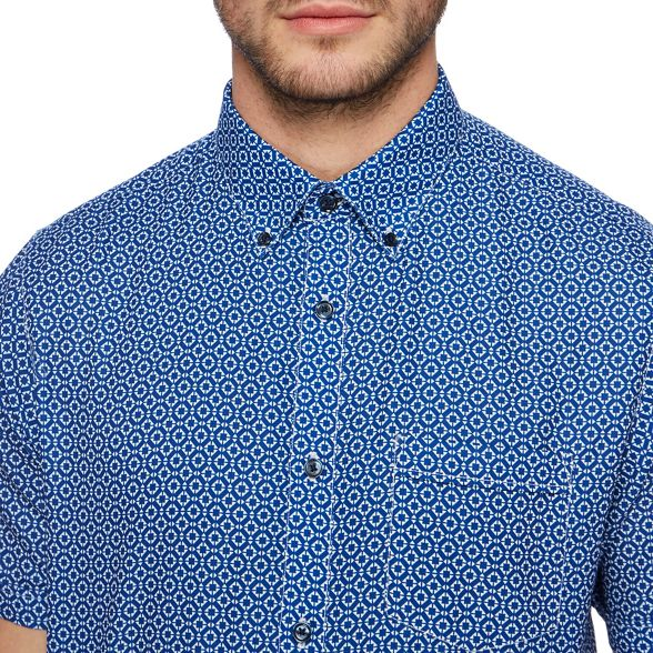 The tall shirt print Big blue Collection and tile t7gq7rw