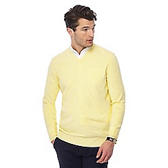 The Collection - Yellow V-neck jumper