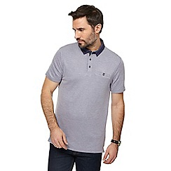 The Collection - Light purple textured collar polo shirt