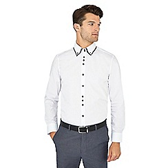 The Collection - White long sleeve tailored fit shirt
