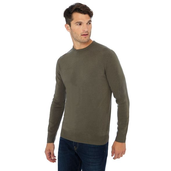 neck Collection Khaki The jumper crew dtYd5qx