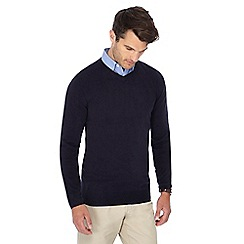 The Collection - Navy V-neck jumper