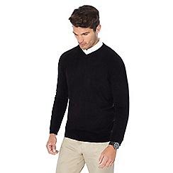 The Collection - Black V-neck jumper