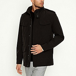 The Collection - Black 'Explorer' Shower Resistant Jacket