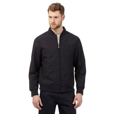 d9aee89d1 The Collection Big and tall navy bomber jacket | Debenhams
