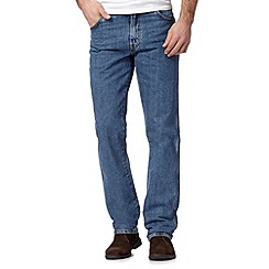 Wrangler - Big and tall blue 'Texas' regular jeans