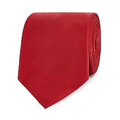The Collection - Red slim tie