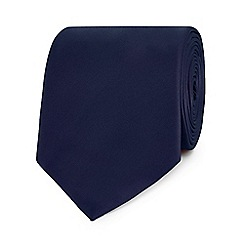 The Collection - Navy slim tie