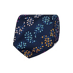 The Collection - Navy paisley tie