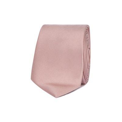 Red Herring - Pink skinny tie