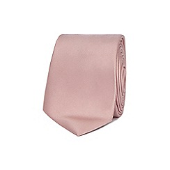 Red Herring - Pink skinny tie