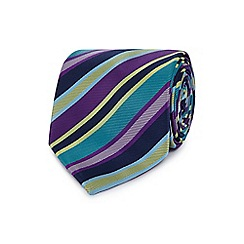 The Collection - Multi-coloured striped tie