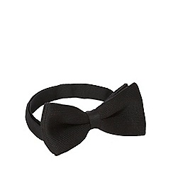 Red Herring - Black knitted bow tie