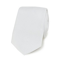 Red Herring - White slim tie