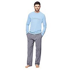 Calvin Klein - Light blue logo pyjama set