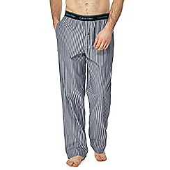 Calvin Klein - Grey striped pyjama bottoms