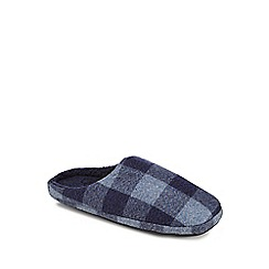 Mantaray - Blue mule slippers