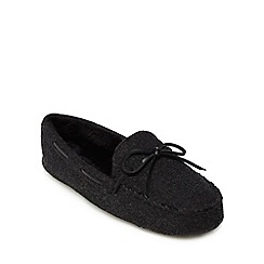 Hammond & Co. by Patrick Grant - Dark brown suede moccasin slippers
