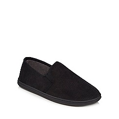 Maine New England - Black cord slippers
