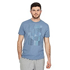 RJR.John Rocha - Big and tall blue dot print t-shirt