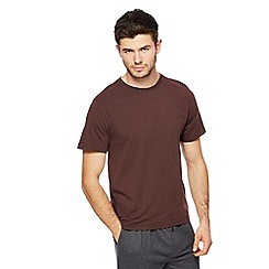 Hammond & Co. by Patrick Grant - Wine red pyjama top with modal