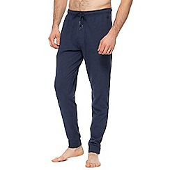 Hammond & Co. by Patrick Grant - Big and tall navy jersey jogging bottoms