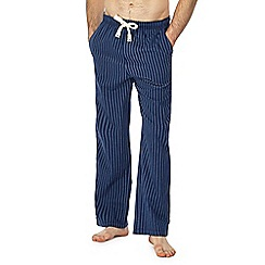 RJR.John Rocha - Navy striped pyjama bottoms