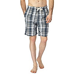RJR.John Rocha - Grey checked pyjama shorts