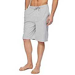 Red Herring - Big and tall grey jersey pyjama shorts