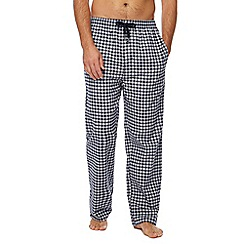 Hammond & Co. by Patrick Grant - Navy checked pyjama bottoms