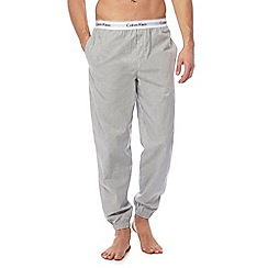 Calvin Klein - Grey cuffed pyjama bottoms