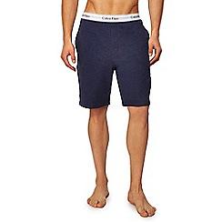 Calvin Klein - Navy sweat shorts