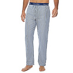 Calvin Klein - Blue striped pyjama bottoms