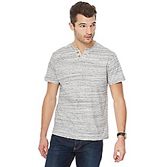 RJR.John Rocha - Grey marl notch neck top
