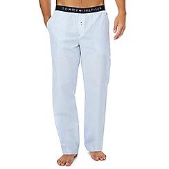 Tommy Hilfiger - Blue stripe print pyjama bottoms