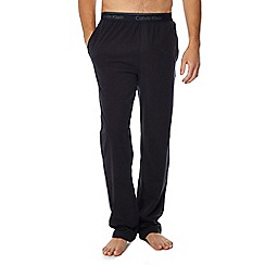Calvin Klein - Black logo waistband jogging bottoms