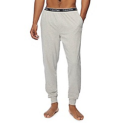 Calvin Klein - Grey cuffed jogging bottoms
