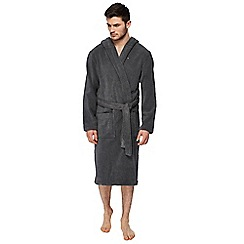 Tommy Hilfiger - Grey hooded dressing gown