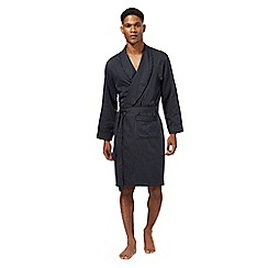 J by Jasper Conran - Navy striped dressing gown
