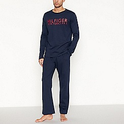 Tommy Hilfiger - Navy cotton pyjama set
