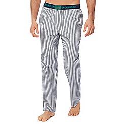 Calvin Klein - Blue stripe print pyjama bottoms