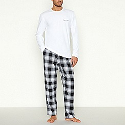 Calvin Klein - Black checked pyjama set