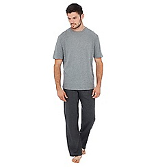 Lounge & Sleep - Grey jersey pyjama set