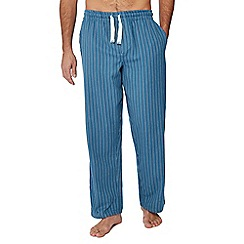 Mantaray - Blue stripe print pyjama bottoms